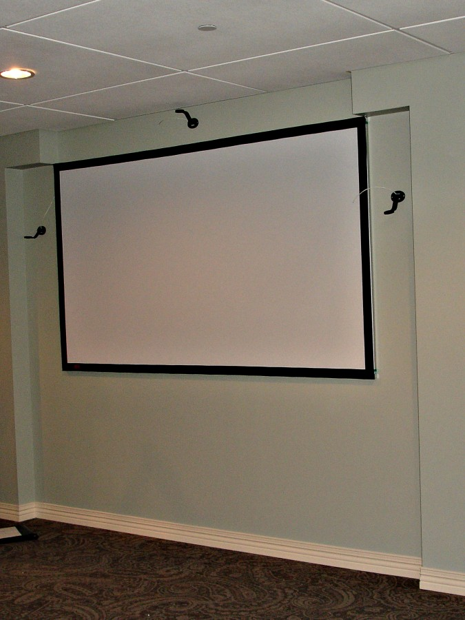 Projection Screens Kite S Custom Interiors
